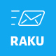 RAKU - Multipurpose Responsive Email Template + Stampready Builder - ThemeForest Item for Sale