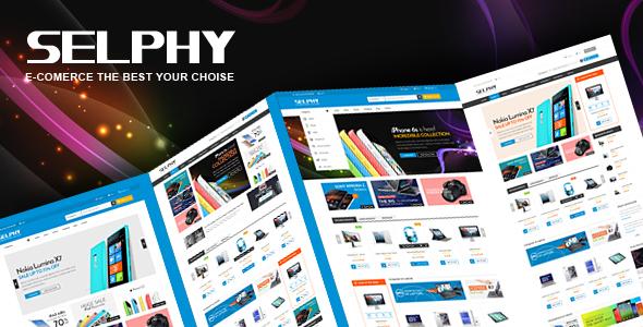 Selphy – Mega Shop Responsive Opencart Theme