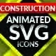 Construction SVG Animated Icons - CodeCanyon Item for Sale