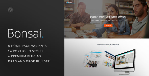 Bonsai – Multipurpose Multi/One Page Responsive WordPress Theme