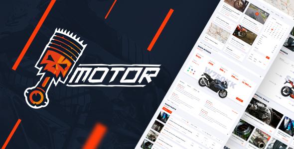 Motor – Vehicles, Parts & Accessories Store – Responsive HTML5 eCommerce Template