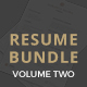 Professional Resume Bundle  - GraphicRiver Item for Sale
