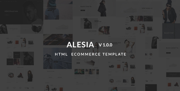 Alesia - Ecommerce HTML Responsive Template - Fashion Retail
