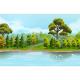 River and the Forest - GraphicRiver Item for Sale