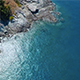 Aerial Sea and Rocks 8 - VideoHive Item for Sale