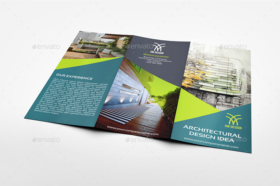 Architectural Design Brochure Bundle Template By Owpictures