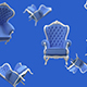 Background Consisting of Pieces of Furniture - VideoHive Item for Sale