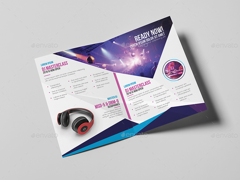 dj   a5 brochure template by wutip2
