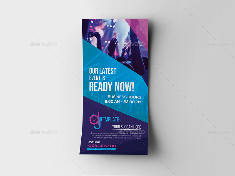 Dj rack card and business card template by wutip2 graphicriver 01dj rackcard and business card templateg fbccfo Image collections