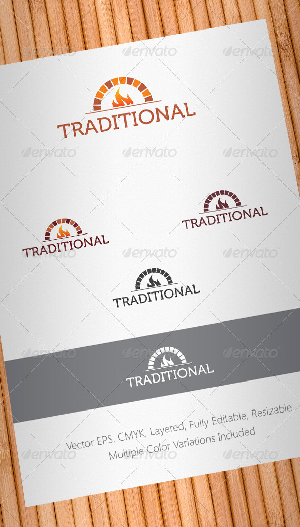 Traditional Food Logo Template - Objects Logo Templates