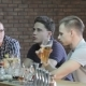 Guys Talk At The Bar - VideoHive Item for Sale