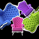 4 Colored Chairs on a Transparent Background - VideoHive Item for Sale