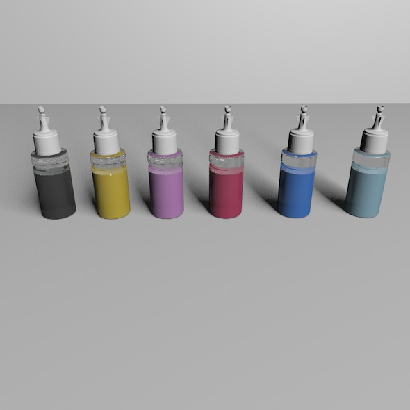 Epson Ogirinal Ink Replica - 3DOcean Item for Sale