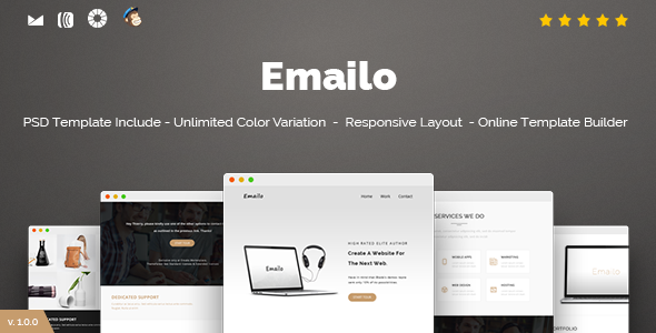 Emailo – Responsive Email and Newsletter Template