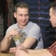 Two Twins Drinking Alcohol At The Bar - VideoHive Item for Sale