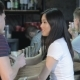 Young People Talking At The Bar - VideoHive Item for Sale