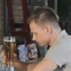 Man Drinks Beer At The Bar - VideoHive Item for Sale
