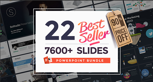 Slidehack's 22 in 1 Powerpoint Bundle