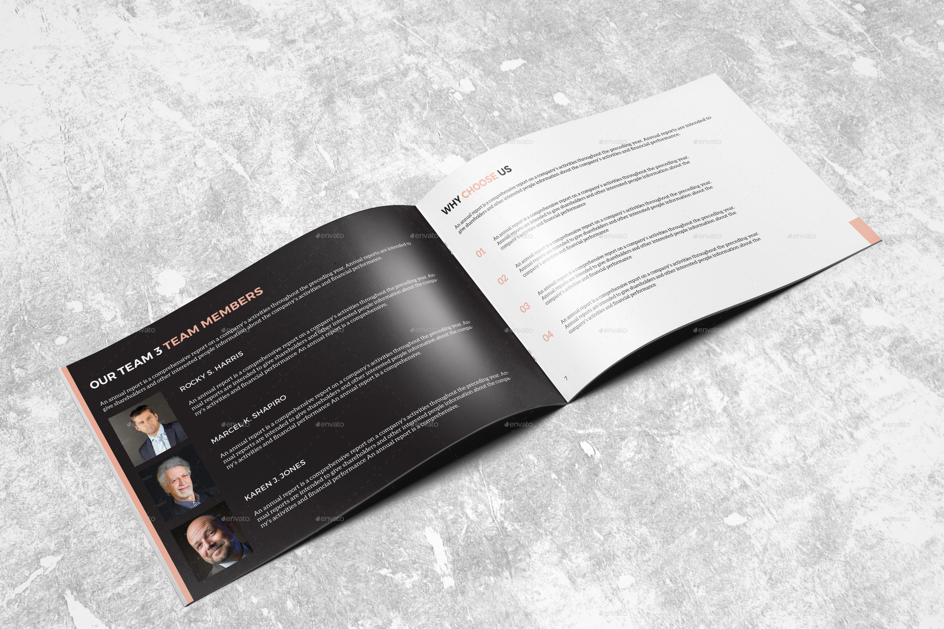 Landscape Annual Report 2015 I Indesign Template by arnabkumar ...