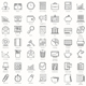 49 Business and Office Icons - GraphicRiver Item for Sale