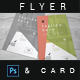 Minimalist Flyer and Business Card - GraphicRiver Item for Sale