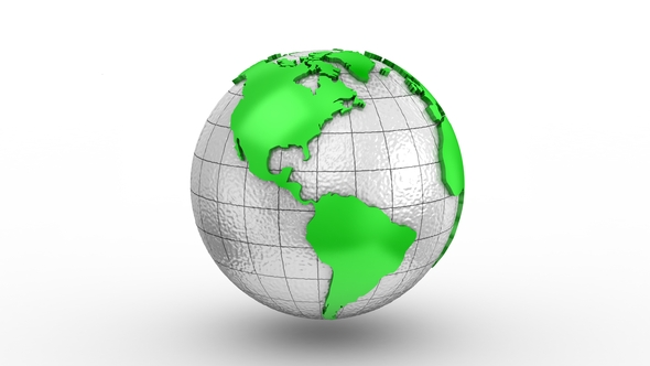 World map turns into a globe by dragun3d videohive play preview video gumiabroncs Choice Image