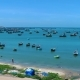 Fishing Village With Many Boats - VideoHive Item for Sale