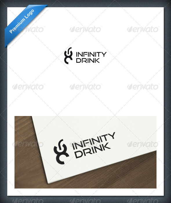 Infinity Drink Logo Template - Food Logo Templates
