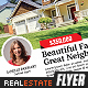 Better Real Estate Flyer Template v3 - GraphicRiver Item for Sale