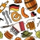 Germany Travel Pattern - GraphicRiver Item for Sale