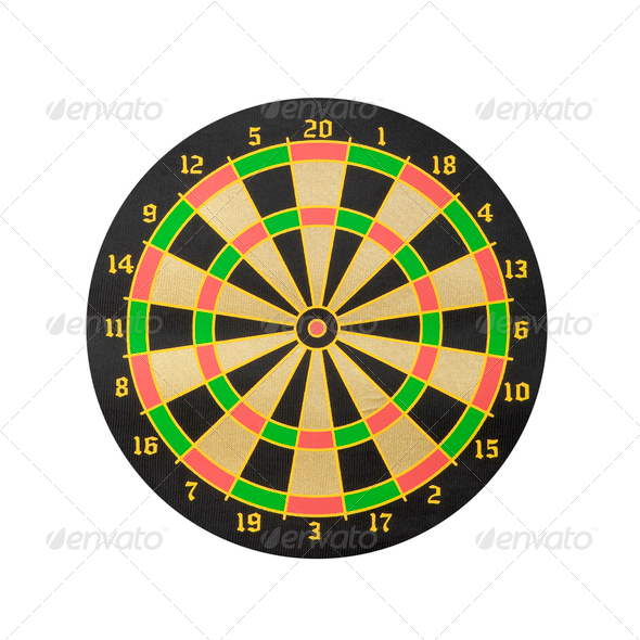 Dart board - Stock Photo - Images