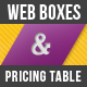 Web Boxes & Pricing Table - GraphicRiver Item for Sale