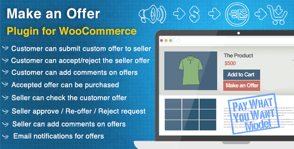 Make an Offer for WooCommerce - CodeCanyon Item for Sale