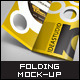 Shape 3 Folding Preview Mock-ups - GraphicRiver Item for Sale