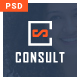 Consult-One Page PSD Template specially for consultancy, agency with multipurpose concept Nulled