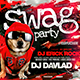 Swag Party Flyer Horizontal - GraphicRiver Item for Sale