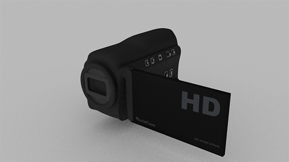 Simple Textured Camcorder  - 3DOcean Item for Sale