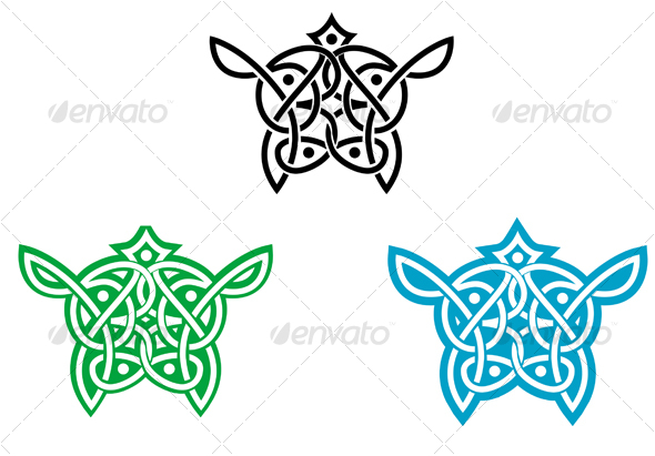 Celtic ornament for design - Decorative Vectors