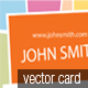 Designer Business Card, Vector - GraphicRiver Item for Sale