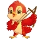 Red Bird with a Slingshot - GraphicRiver Item for Sale