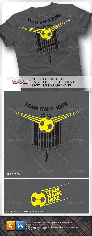 Soccer Team Shirt - Sports & Teams T-Shirts