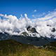 Clouds over the Mountains - VideoHive Item for Sale