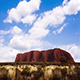Clouds over Uluru Australia - VideoHive Item for Sale