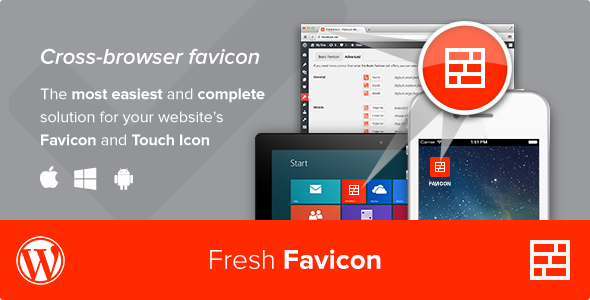 Fresh Favicon - WordPress Plugin - CodeCanyon Item for Sale
