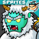 Yeti 2D Game Chracter Sprites 211 - GraphicRiver Item for Sale