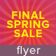 Final Spring Sale Flyer - GraphicRiver Item for Sale