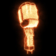 Burning Microphone  - VideoHive Item for Sale