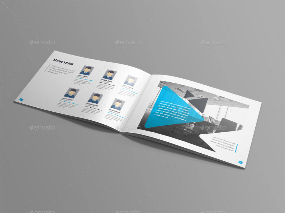 Landscape Brochure by generousart | GraphicRiver