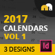 Calendars Vol 1 - GraphicRiver Item for Sale