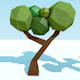 Low-Poly trees pack - 3DOcean Item for Sale